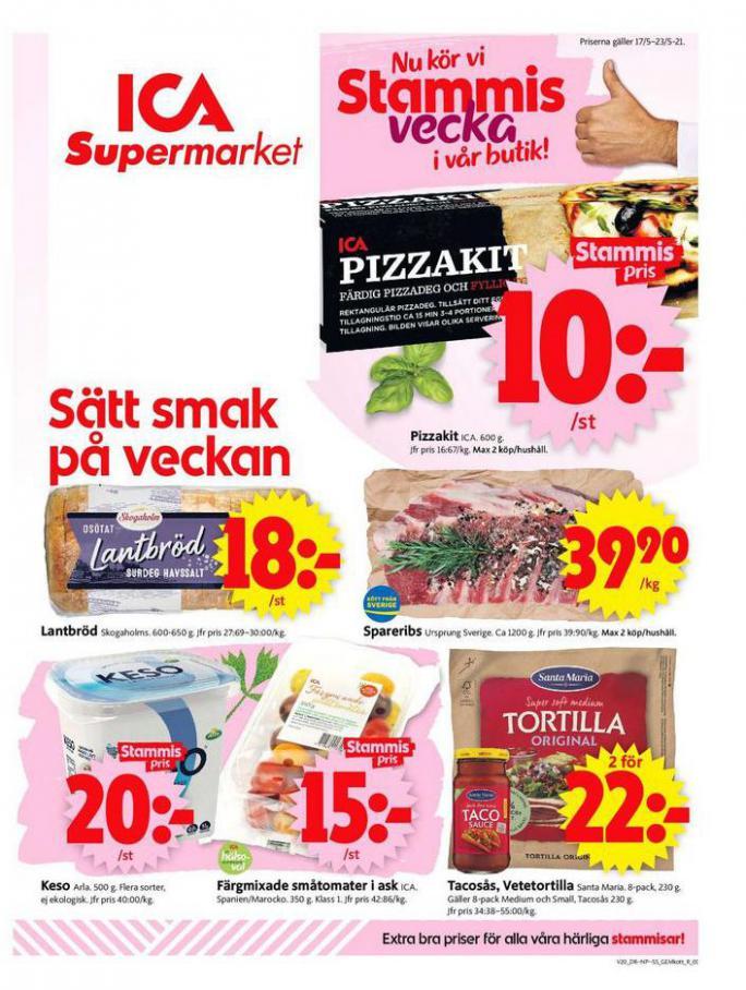 ICA Supermarket Erbjudanden . ICA Supermarket (2021-05-23-2021-05-23)