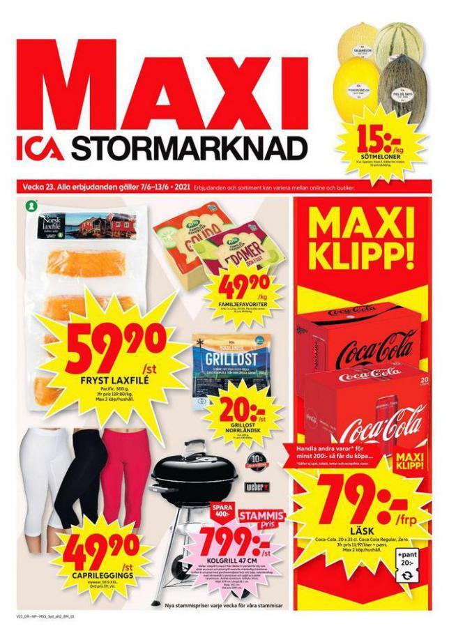 ICA Maxi Erbjudanden. ICA Maxi (2021-06-13-2021-06-13)