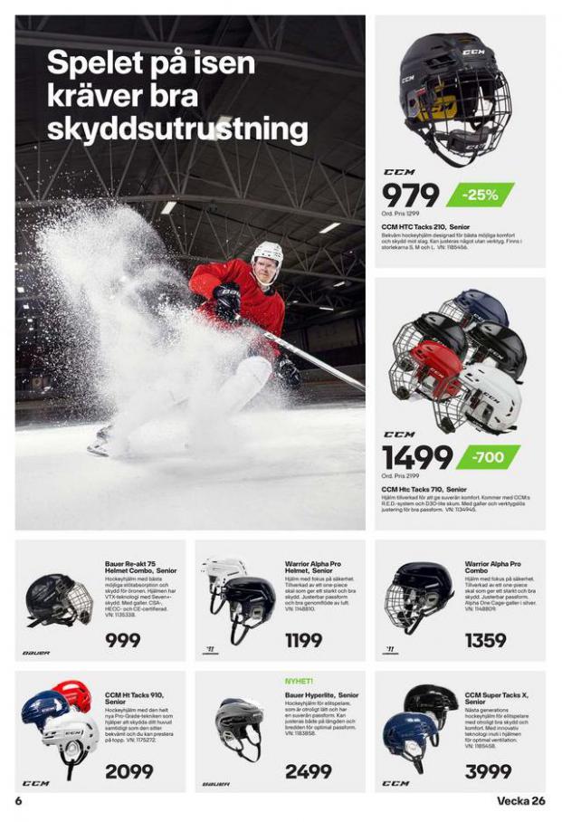 XXL Erbjudande Hockeyguide. Page 6