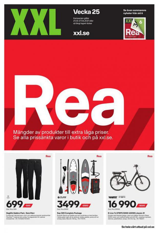 XXL Erbjudande Rea. Page 1