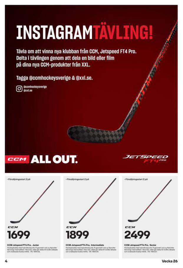XXL Erbjudande Hockeyguide. Page 4