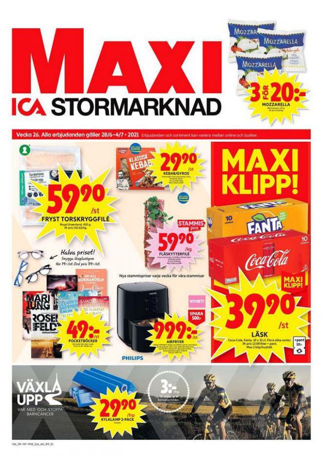 ICA Maxi Erbjudanden. ICA Maxi (2021-07-04-2021-07-04)