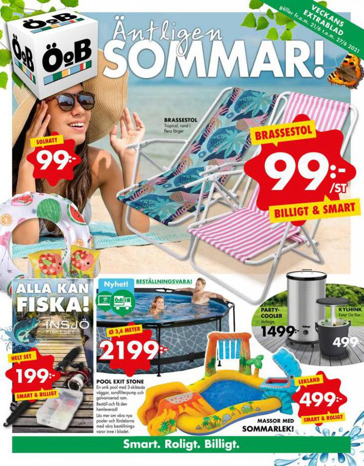 ÖoB Erbjudande Sommar 2021. ÖoB (2021-06-27-2021-06-27)