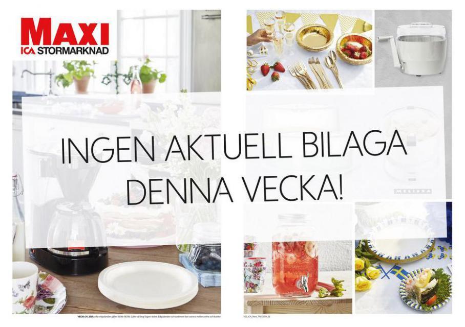 ICA Maxi Erbjudanden. ICA Maxi (2021-06-27-2021-06-27)