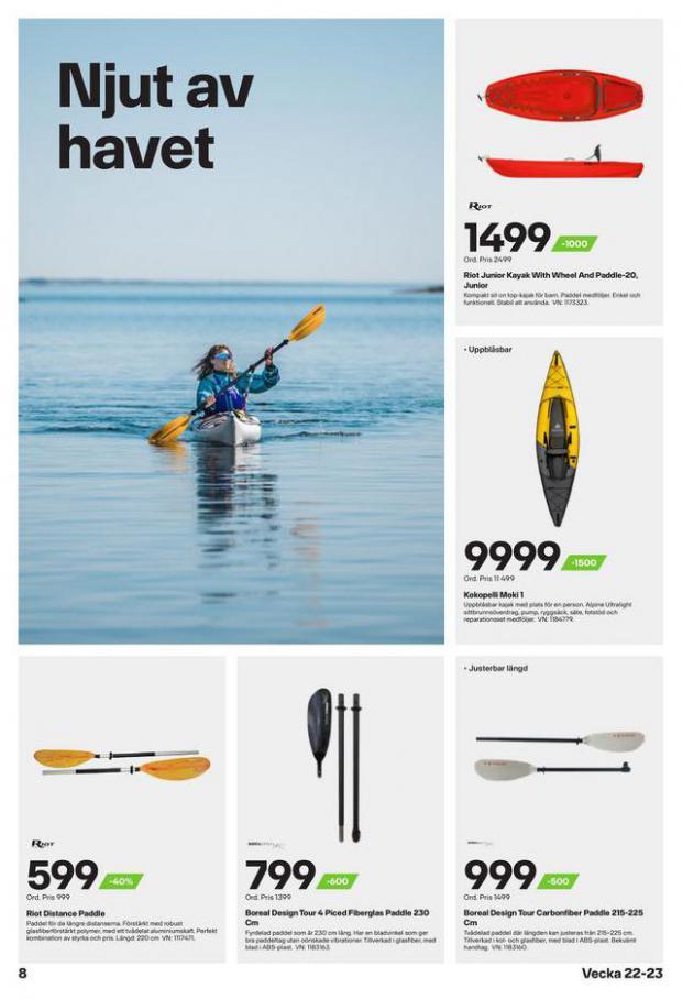 XXL Erbjudande Sommarens vattensportguide. Page 8