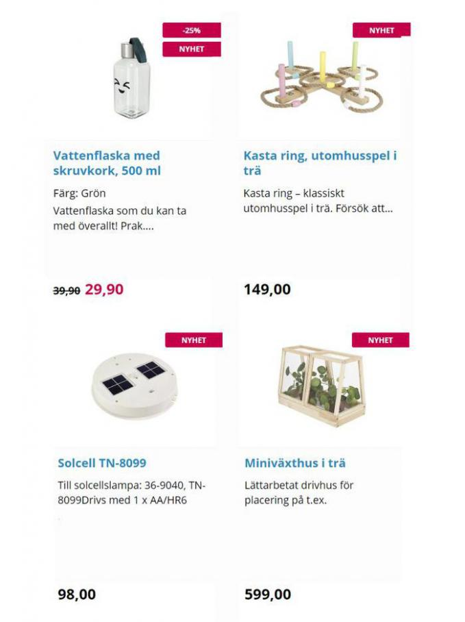 New products. Page 5