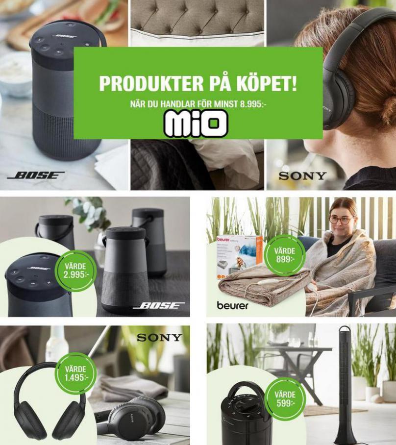Mio Erbjudande Produkter på Köpet!. Mio (2021-06-20-2021-06-20)
