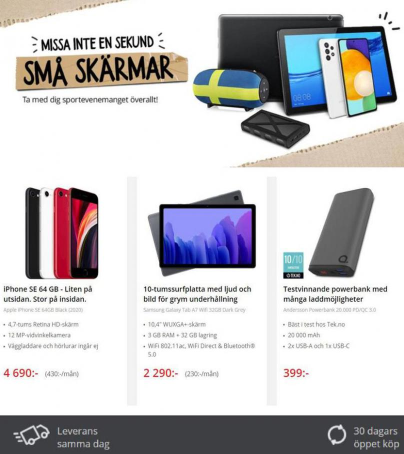 Net On Net Erbjudande Sportsommar!. Page 6