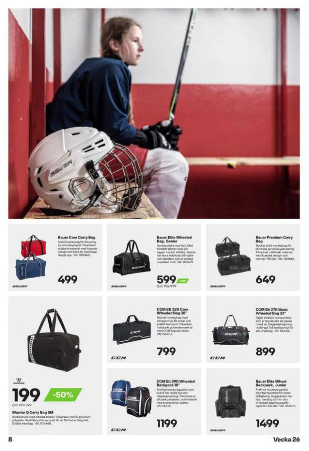 XXL Erbjudande Hockeyguide. Page 8