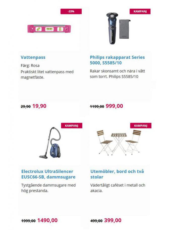 New products. Page 7