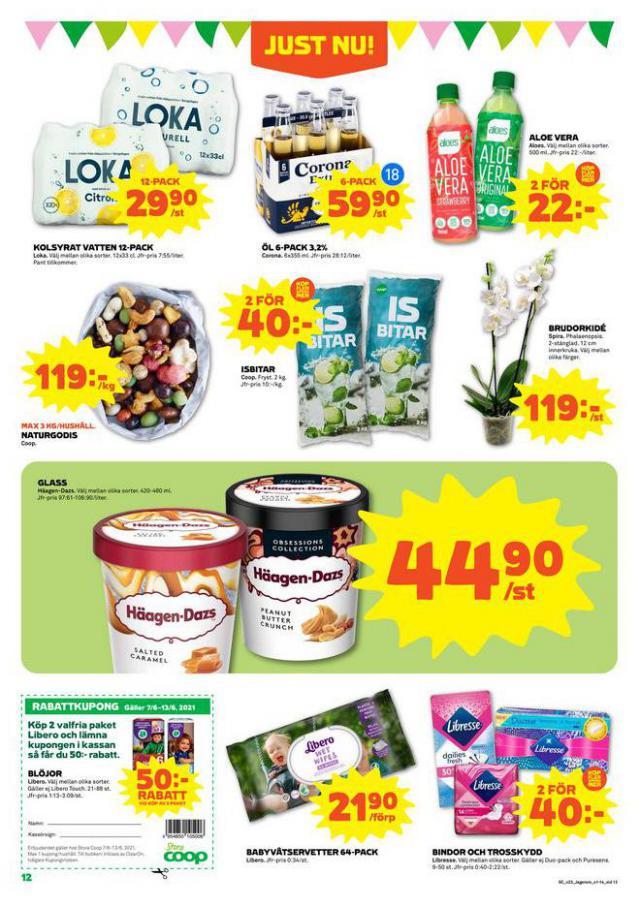 Coop Forum reklamblad. Page 12
