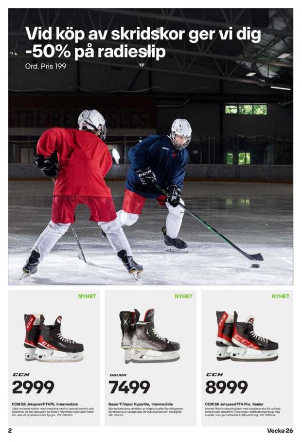 XXL Erbjudande Hockeyguide. Page 2