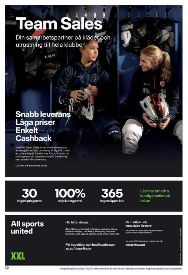 XXL Erbjudande Hockeyguide. Page 12