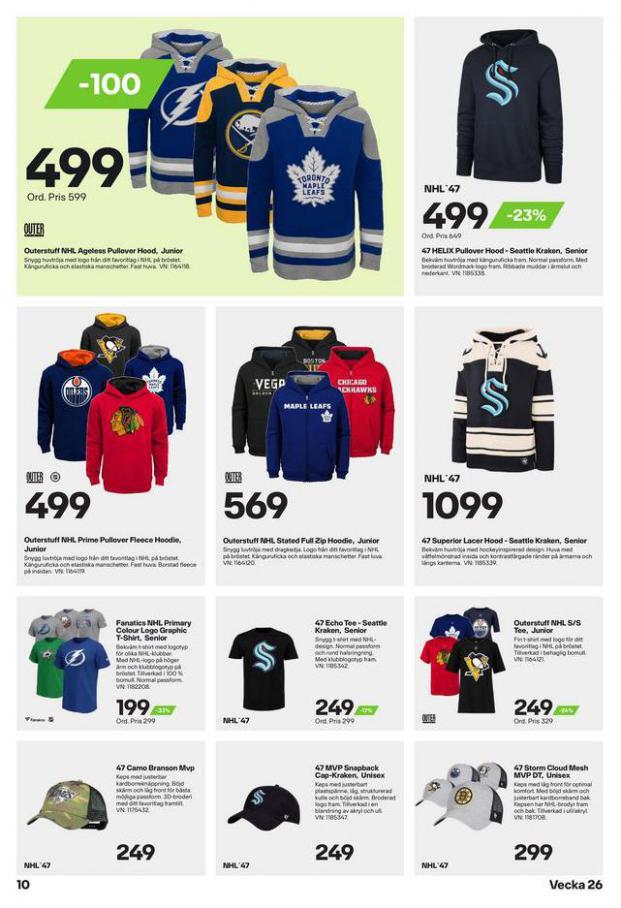 XXL Erbjudande Hockeyguide. Page 10