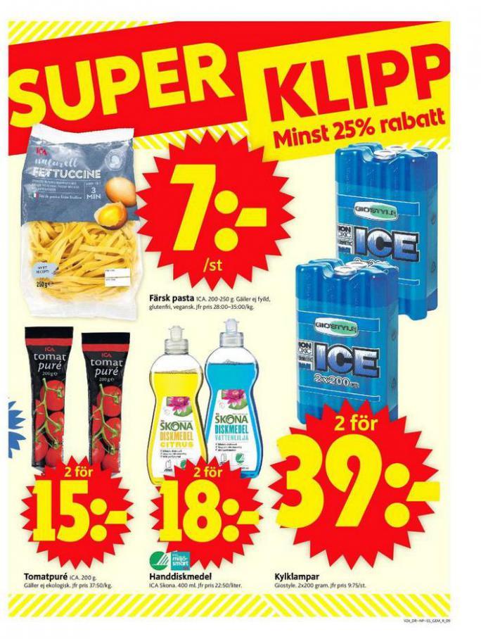 ICA Supermarket Erbjudanden. Page 9