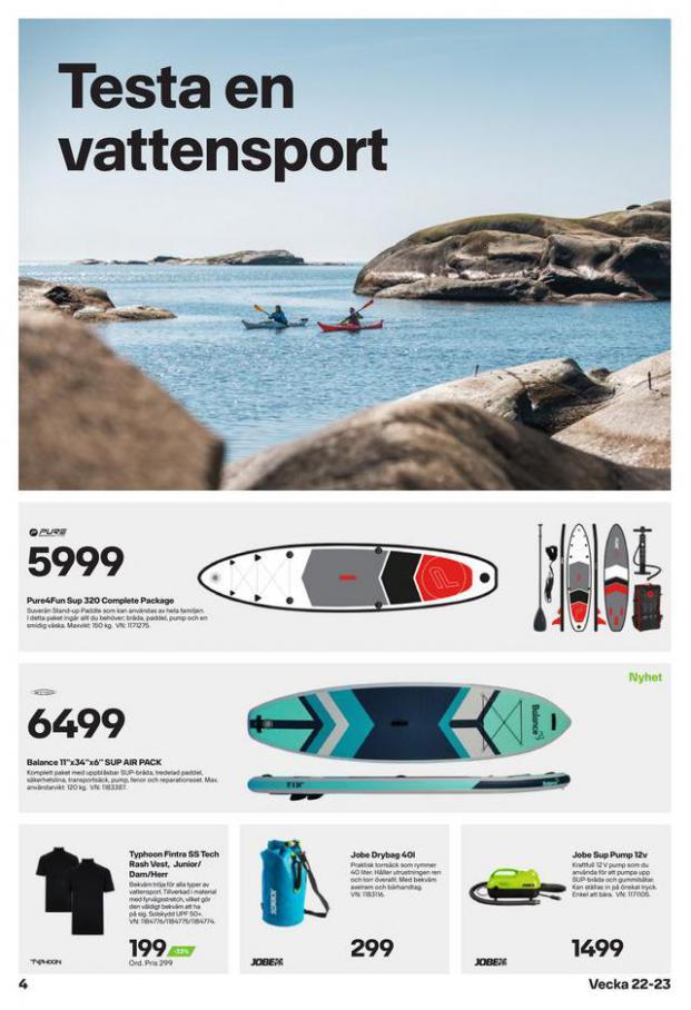 XXL Erbjudande Sommarens vattensportguide. Page 4