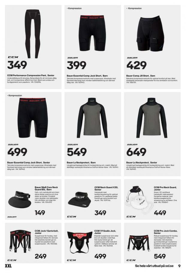 XXL Erbjudande Hockeyguide. Page 9