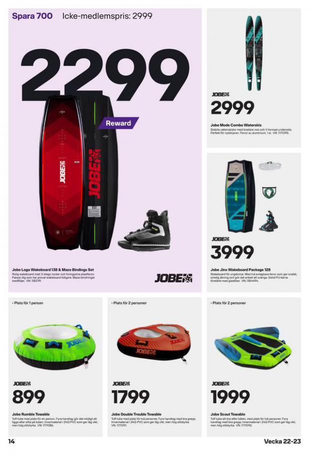 XXL Erbjudande Sommarens vattensportguide. Page 14