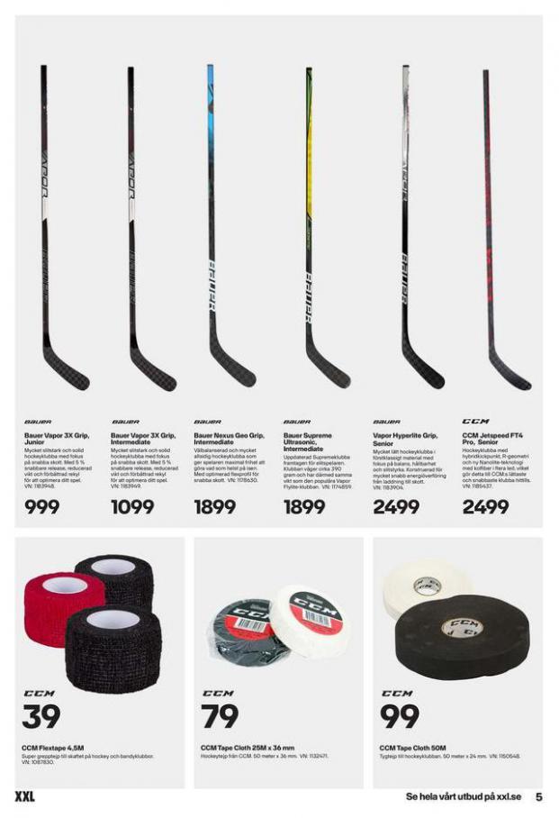 XXL Erbjudande Hockeyguide. Page 5