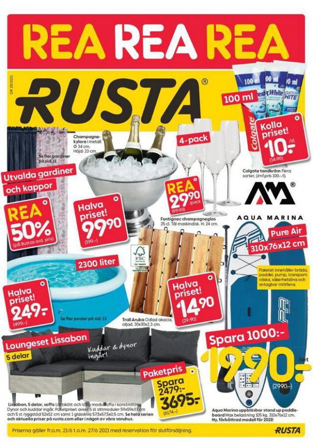 Rusta Erbjudande Kampanjer. Rusta (2021-06-27-2021-06-27)