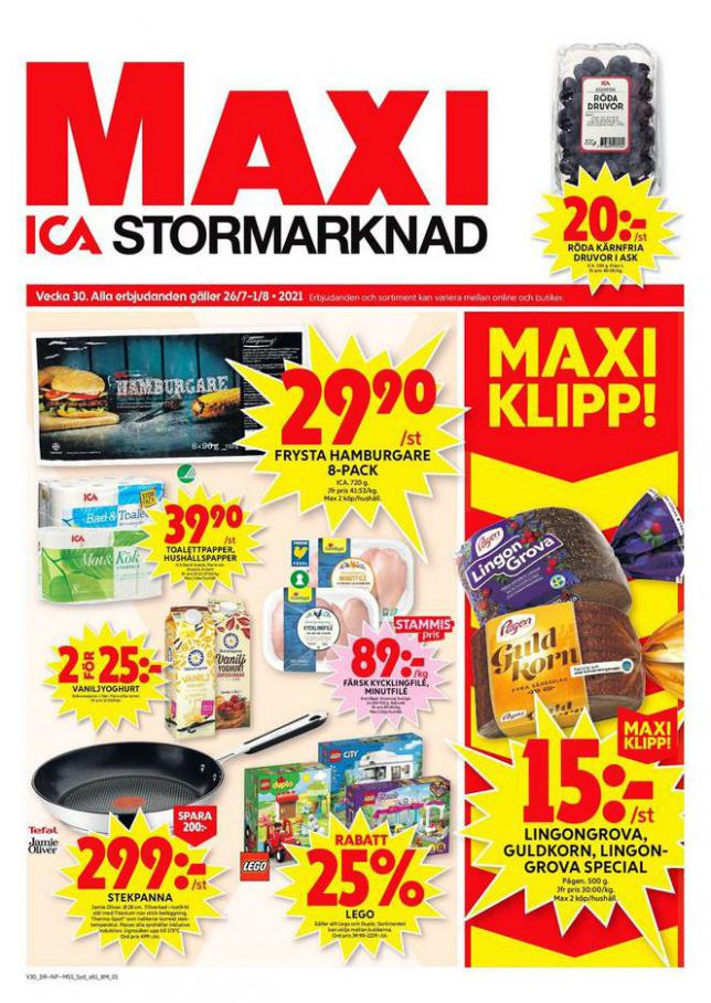 ICA Maxi Erbjudanden. ICA Maxi (2021-08-01-2021-08-01)