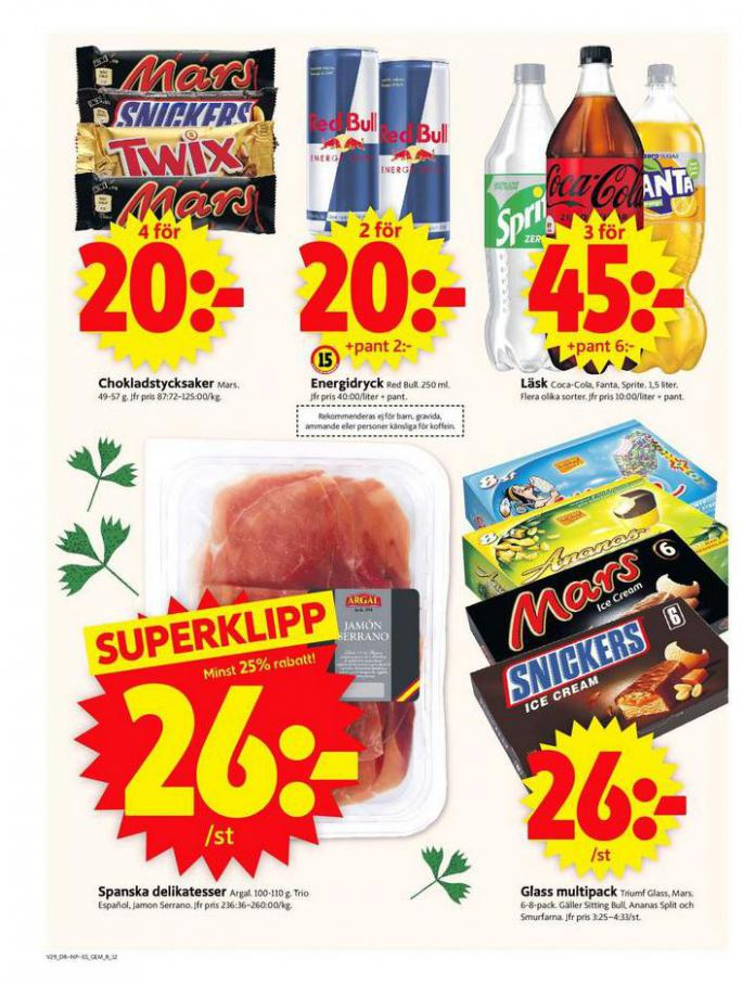 ICA Supermarket Erbjudanden. Page 12