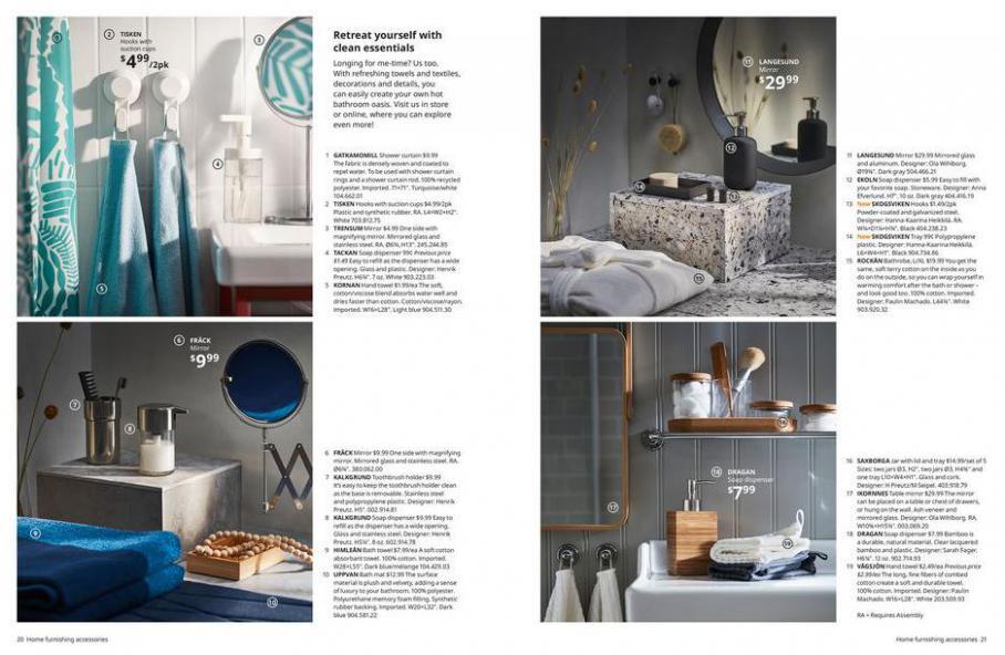 IKEA Bathroom 2021. Page 11