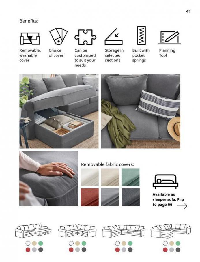 IKEA Sofa 2021. Page 41
