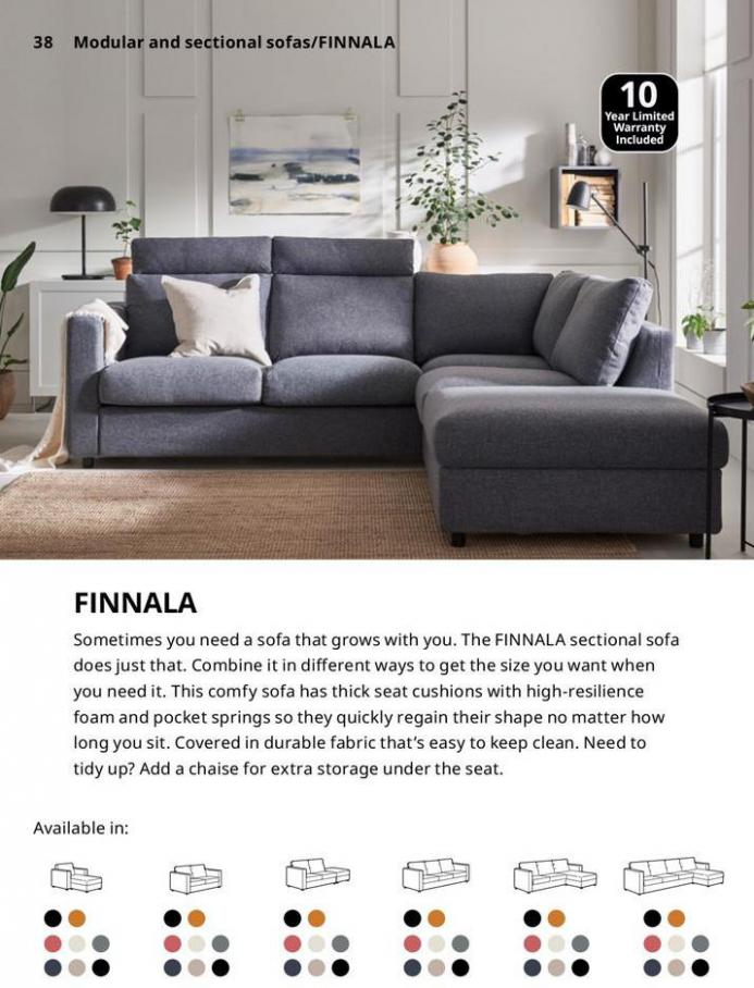 IKEA Sofa 2021. Page 38