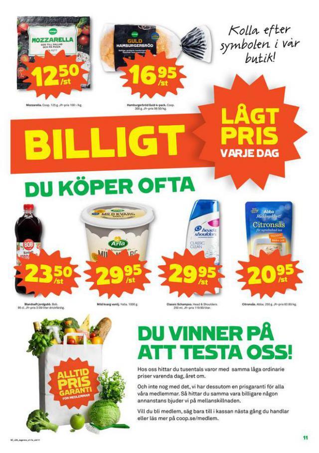 Coop Forum reklamblad. Page 11
