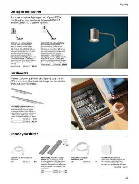 IKEA  BESTÅ BG 2022. Page 45
