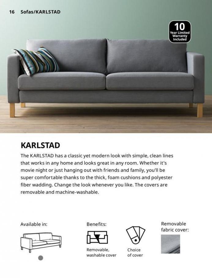 IKEA Sofa 2021. Page 16