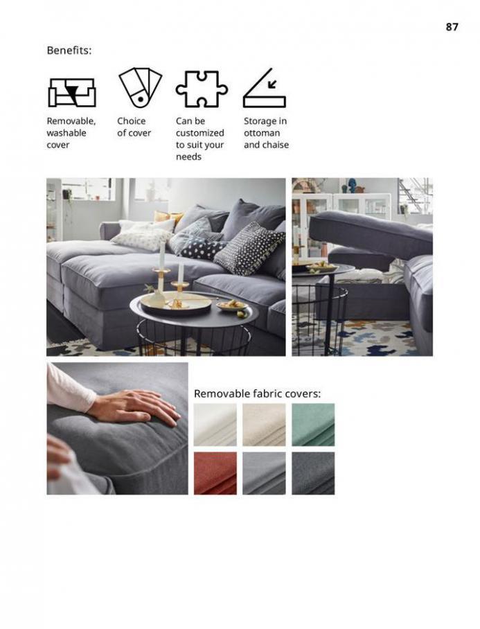 IKEA Sofa 2021. Page 87