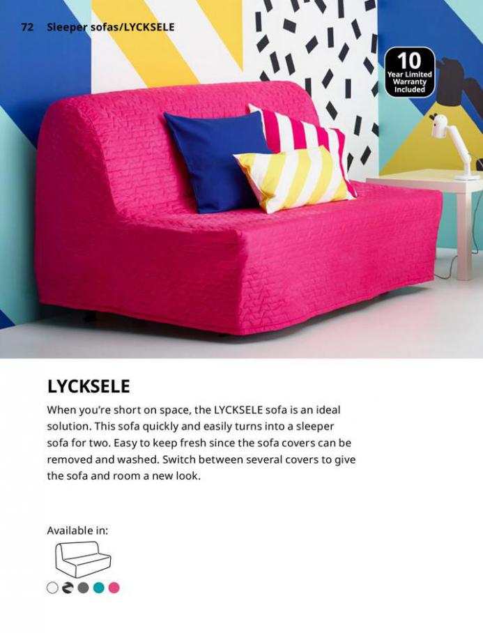 IKEA Sofa 2021. Page 72