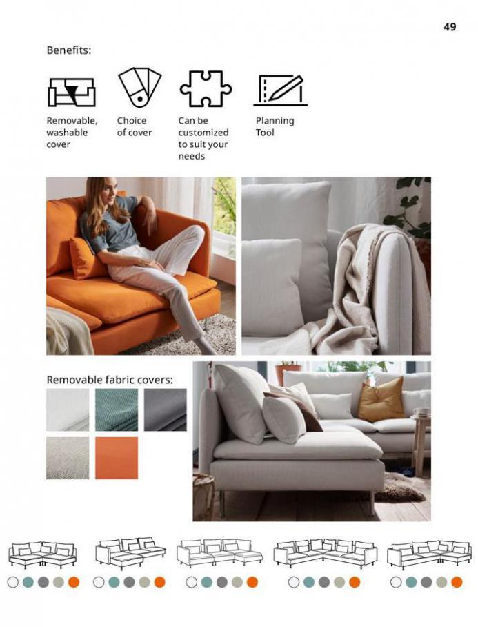 IKEA Sofa 2021. Page 49