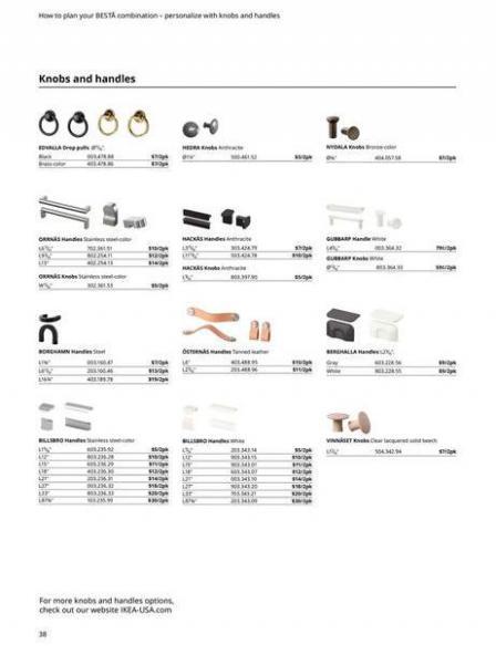 IKEA  BESTÅ BG 2022. Page 38