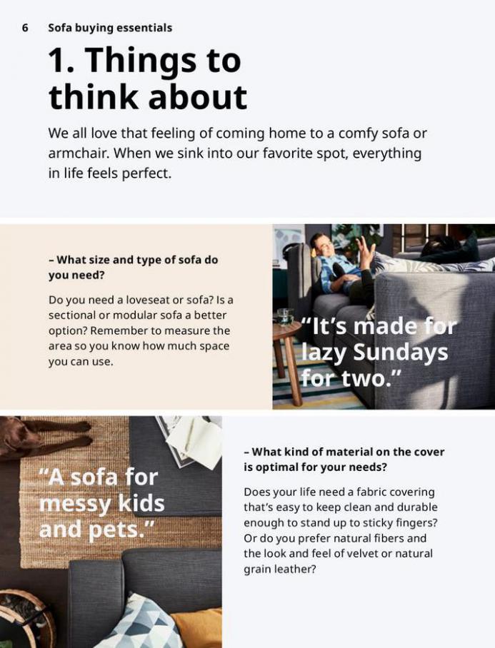 IKEA Sofa 2021. Page 6