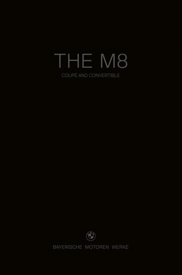 BMW M8 Coupé & Cabriolet. BMW (2022-01-01-2022-01-01)