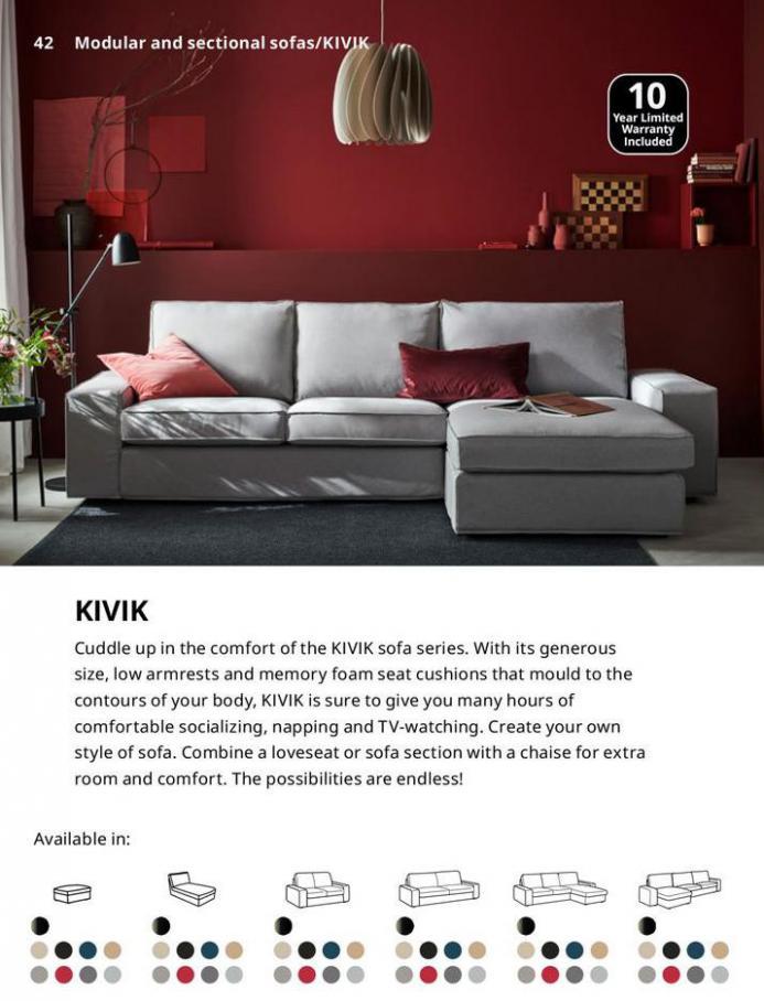 IKEA Sofa 2021. Page 42