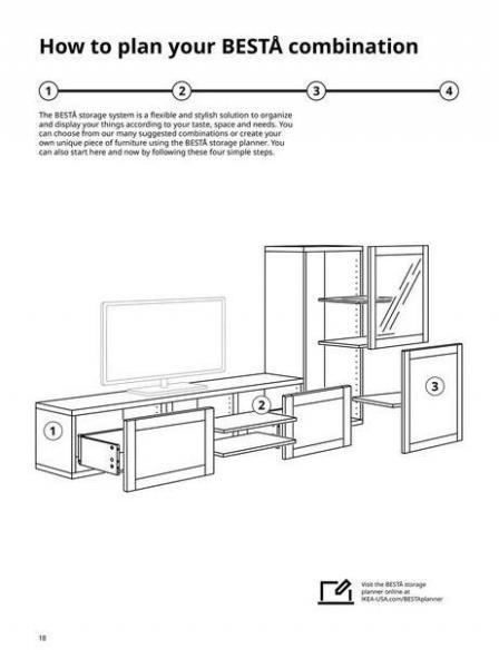 IKEA  BESTÅ BG 2022. Page 18