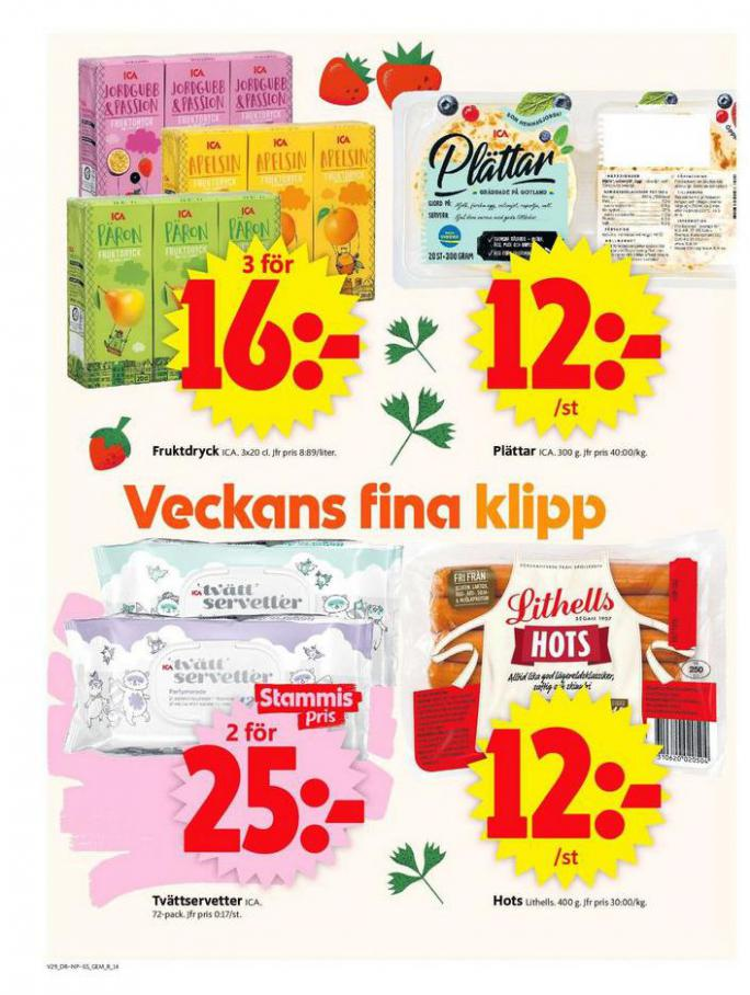ICA Supermarket Erbjudanden. Page 14