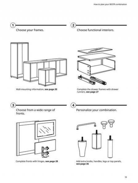 IKEA  BESTÅ BG 2022. Page 19