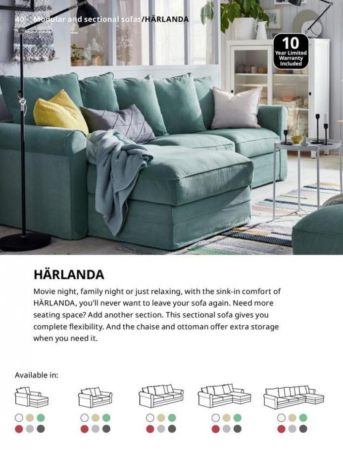 IKEA Sofa 2021. Page 40