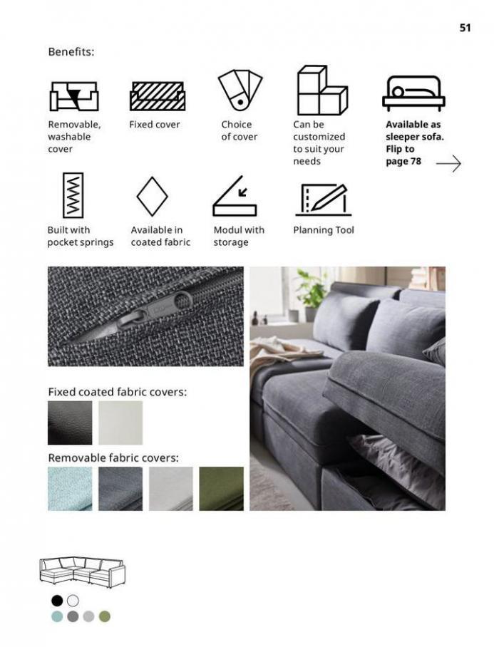 IKEA Sofa 2021. Page 51