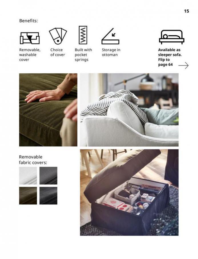 IKEA Sofa 2021. Page 15