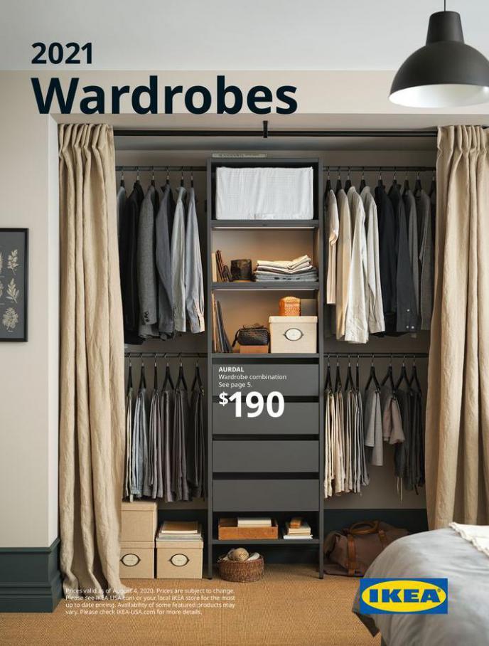 2021 Wardrobe. IKEA (2021-12-31-2021-12-31)