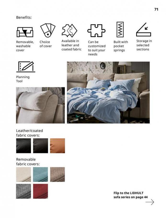 IKEA Sofa 2021. Page 71