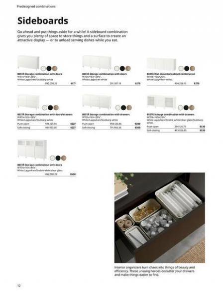 IKEA  BESTÅ BG 2022. Page 12