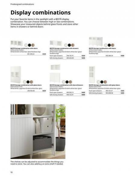 IKEA  BESTÅ BG 2022. Page 10