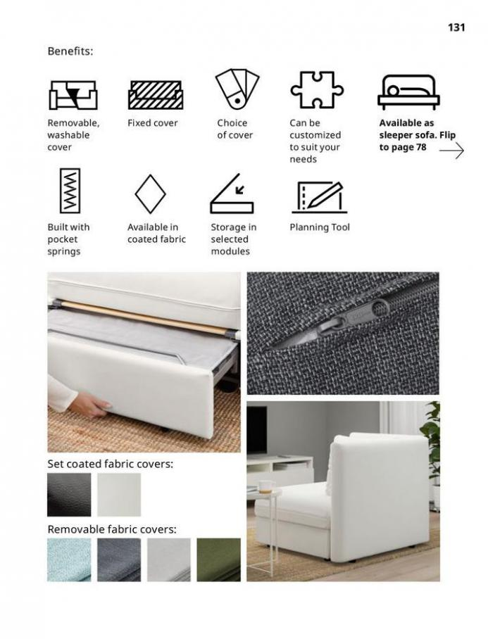 IKEA Sofa 2021. Page 131